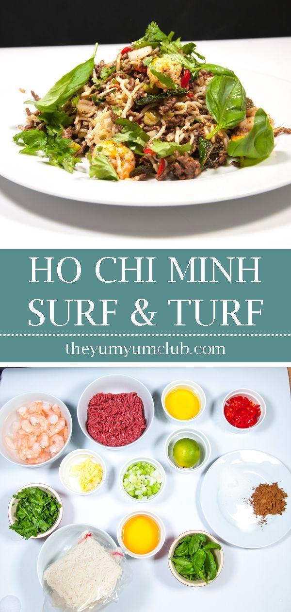 Ho Chi Minh Surf And Turf Recipe Asian Recipes Recipes Surf And Turf