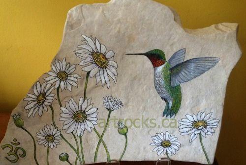 Hummingbird Inspired Stone