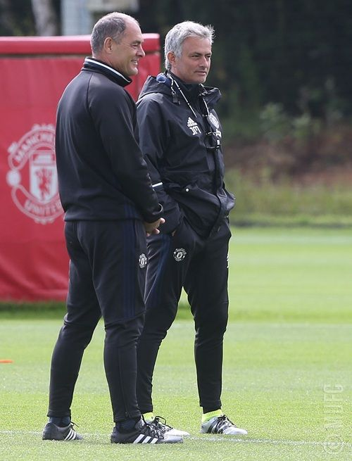 Silvino Louro & Jose Mourinho