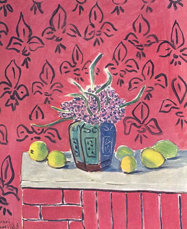 Still Life with Lemons by Henri Matisse from the Museum of Modern Art, New York. 1943