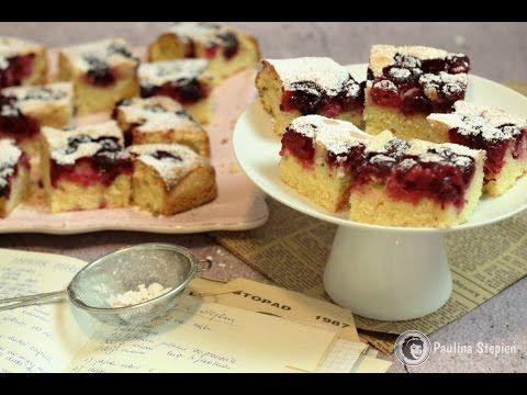 Ciasto z owocami i olejem przepis | Kotlet.TV