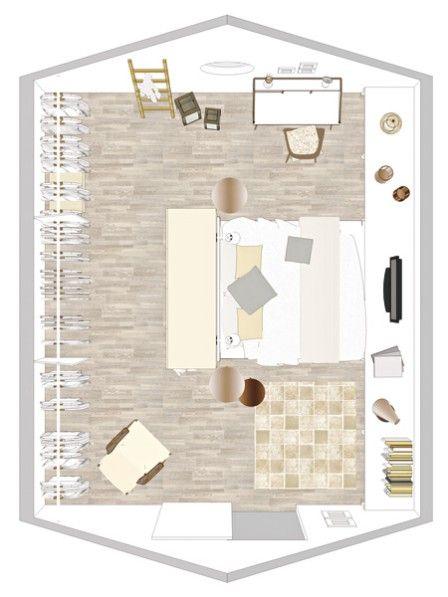 1000+ Ideen zu Schlichte Schlafzimmer auf Pinterest  Schrank, Minimalistische dekoration und ...