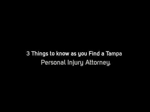 Tampa personal injury attorney