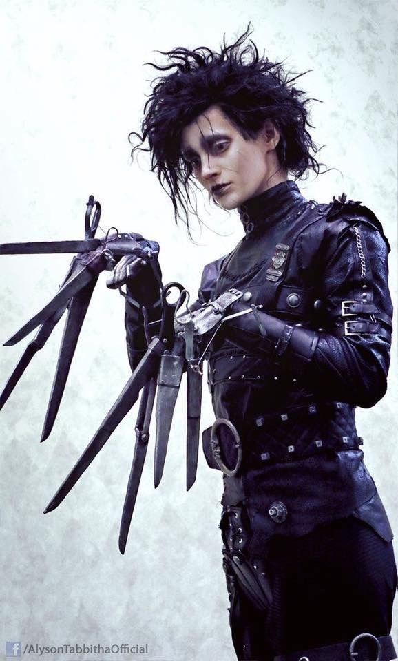 Pin By Smoke Mirrors On Filmy Best Cosplay Edward Scissorhands Cosplay