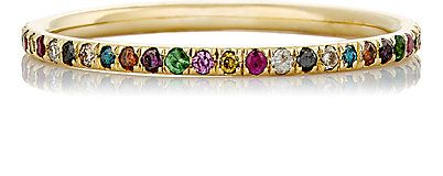 Ileana Makri Mixed-Gemstone Thread Band - Rings - 504392434