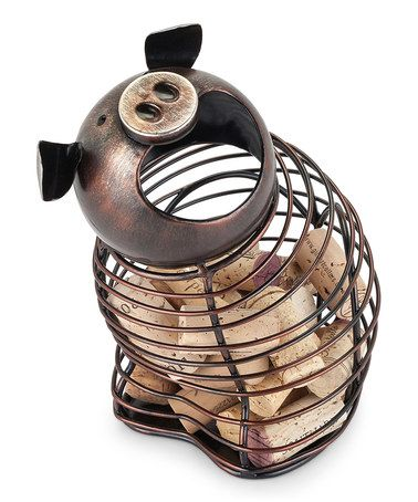 Loving This Pig Cork Holder On #zulily! #zulilyfinds