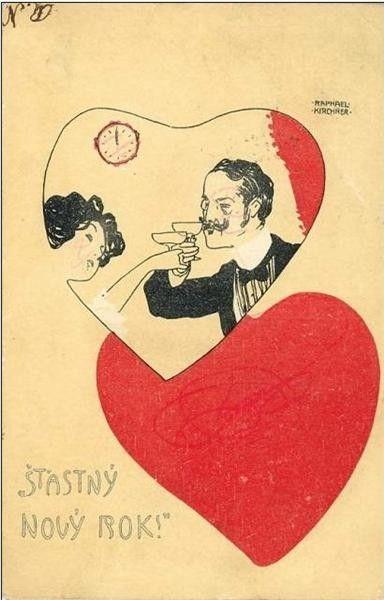 Raphael Kirchner, Happy New Year, 1899