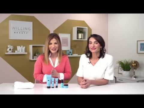 Introducing Willing Beauty's HY+5 Regimen – Safe and Effective Skincare A skin cancer diagnosis at age 29 gave Willing Beauty co-founder Christy Prunier the drive to create safe and effective skin care products. Here, she and Patti Reilly unpack some of the science that powers our proprietary HY+5 Complex and produces such amazing clinical results for women just like you! Visit karolgordon.willingbeauty.com for more information.