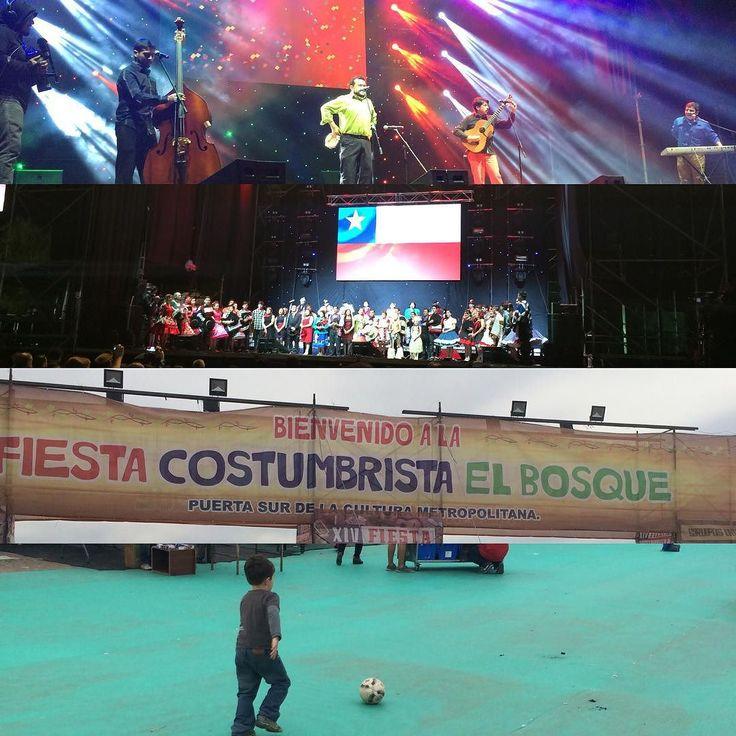 Mucha gracias a los 10 mil bosquinos que nos acompañaron y disfrutaron de la primera jornada de la XIV Fiesta Costumbrista. Mañana desde las 11 am estarán las puertas abiertas para el show del Circo. Hasta Mañana