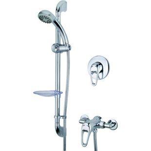 Wickes Marilla Manual Mixer Shower Chrome | Wickes.co.uk £85.99