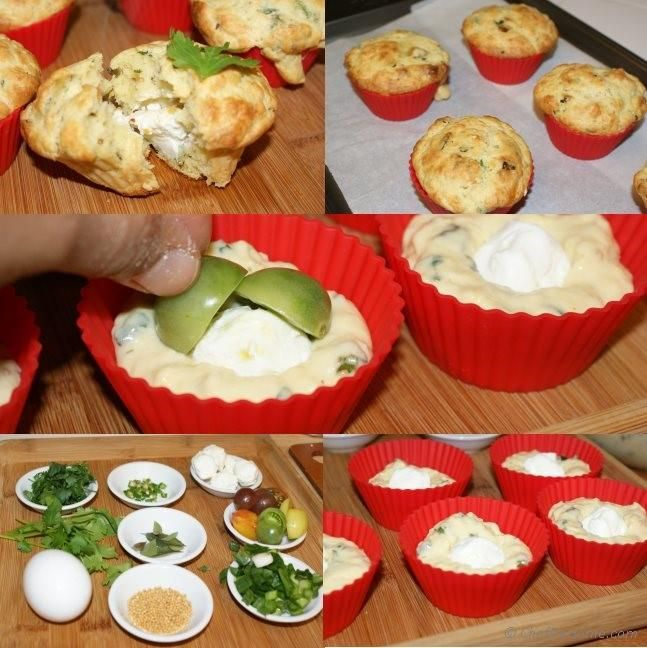 Savory Breakfast Chickpea Muffins Recipe   ChefDeHome.com