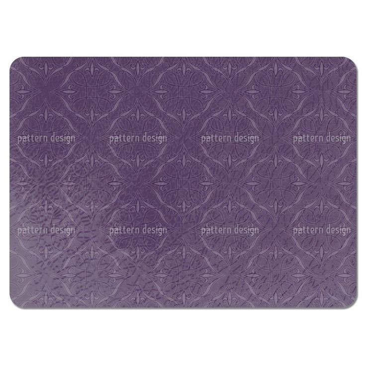 Uneekee Renaissace in Purple Placemats (Set of 4) (Renaissace In Purple Placemat) (Polyester, Oriental)