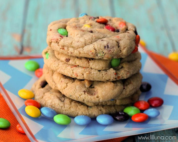 giant chewy m amp m cookies from lil luna on chef in training com ...