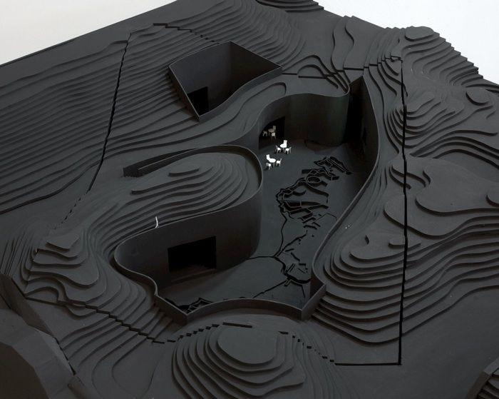 Museum Fort Vechten - Estudio Anne Holtrop. Curvas de nivel. #topografo #topografia #landsurveyor #geomatica #geometra #geomatic #topographie