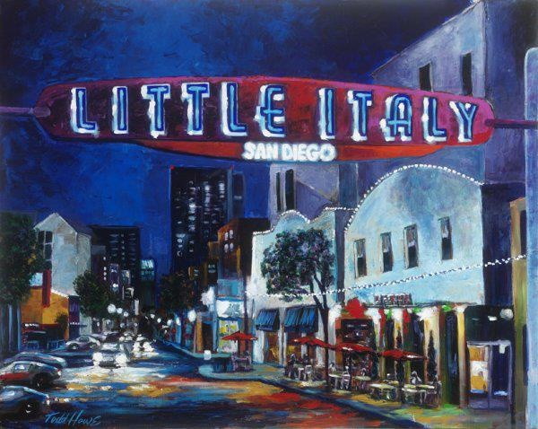 Little Italy Painting Sweet Home San Diego Pinterest