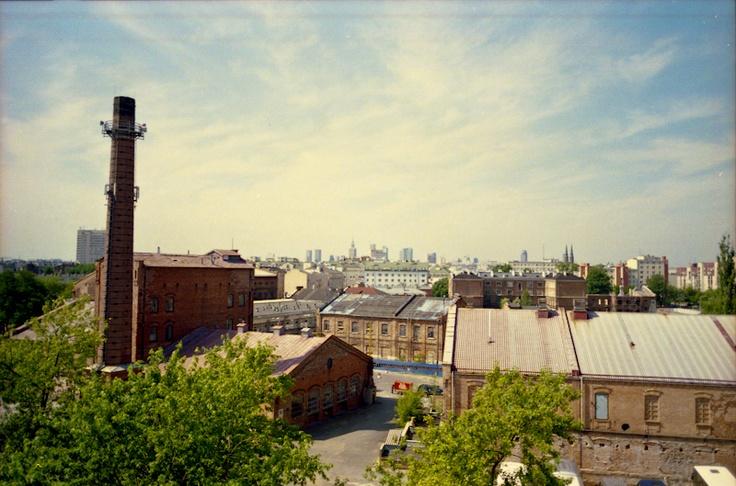 Koneser, Old vodka destilery, Warsaw  from 4th floor  / photo Tomasz Rykaczewski