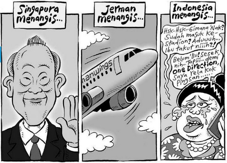 Mice Cartoon, Kompas 29 Maret 2015: Indonesia Menangis