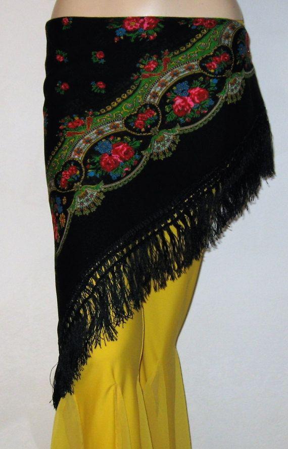 Sciarpa zingaro spedizione inclusa Gypsy danza del di Folkdances