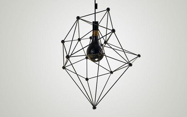 Black Light pendant light | lighting . Beleuchtung . luminaires | Design:  Diana Dumitrescu |