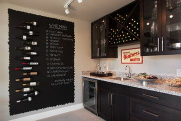 Classic Suite, Secret Ridge - contemporary - wine cellar - vancouver - i3 design group