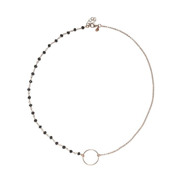 Circle and rosary necklace – Emmevì gioielli