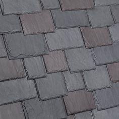 Multi-Width Composite Slate Roof Tile   DaVinci Roofscapes