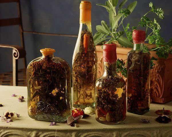 Ξύδι με αρωματικά βότανα - Εύκολη συνταγή