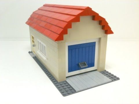 Tutorial Lego Single Car Garage Cc Youtube Lego
