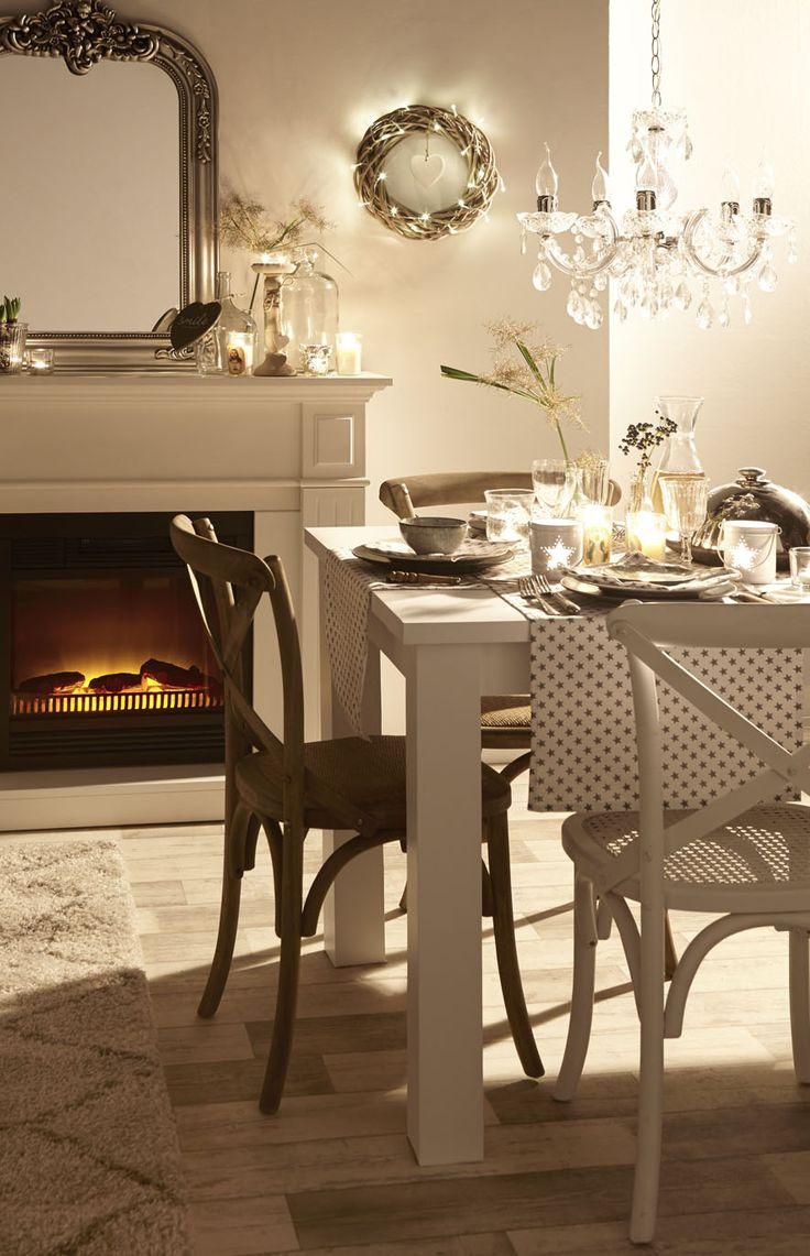 Sfeer, tafel, gedekt, feestelijk, loper, gezellig, warm, cozy, winter www.kwantum.nl