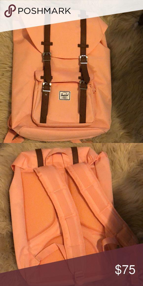 Pink Herschel backpack Light pink Never used Herschel backpack Herschel Supply Company Bags Backpacks