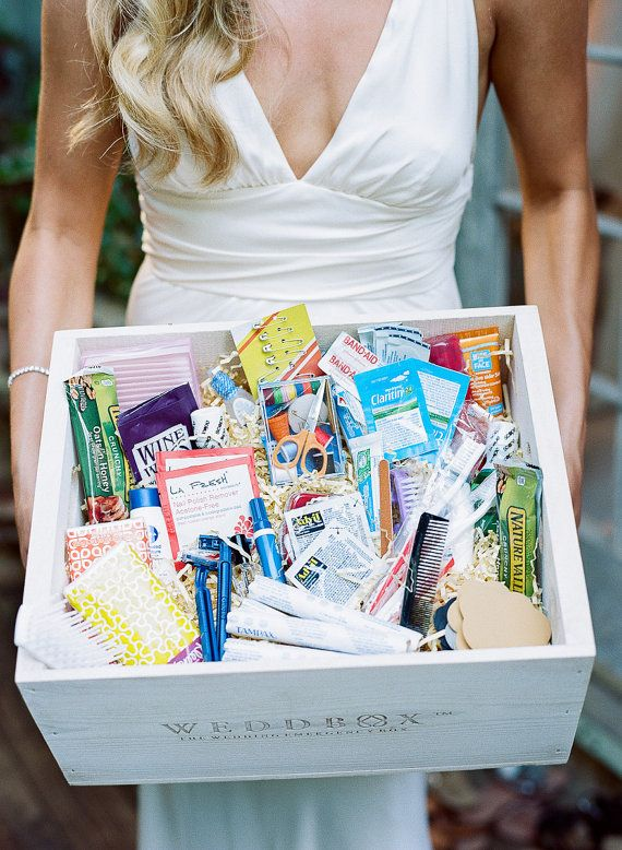 Wedding Survival Kit for the Bride Bridesmaids & Guests by WeddBox