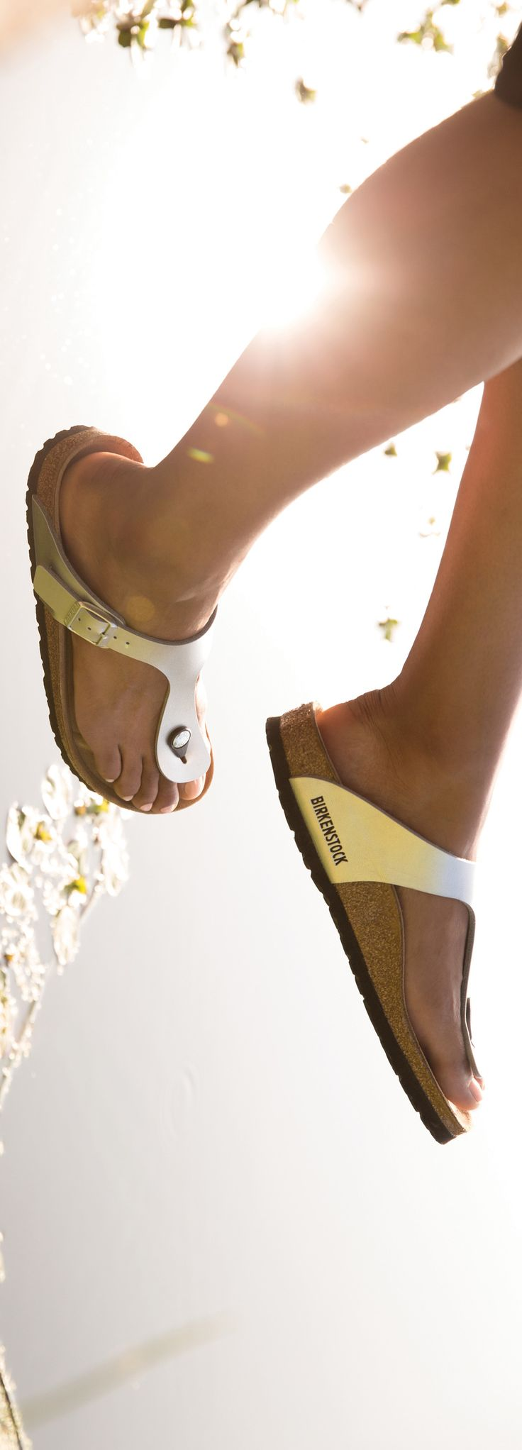The Birkenstock Gizeh is perfect for days spent in the sun.