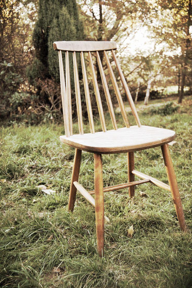 Krzesło klasyk PRL, model 5910, prod. Zakłady Mebli Giętych Fameg