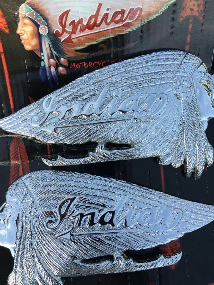 Pre Owned Cars >> Tank emblem ! | Indian motorcycle leather and collectables ...