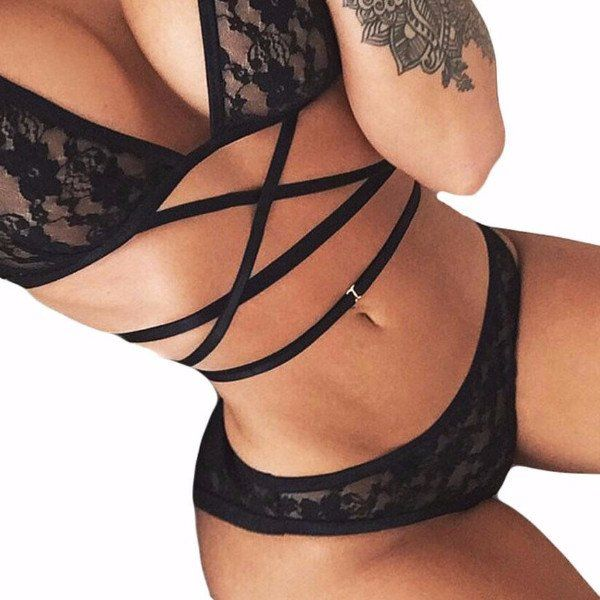 Bandage Lace #Lingerie Set With Push Up ____________________________________________ Zorket Provides Only Top Quality Products for Reasonable Prices + FREE SHIPPING Worldwide ____________________________________________