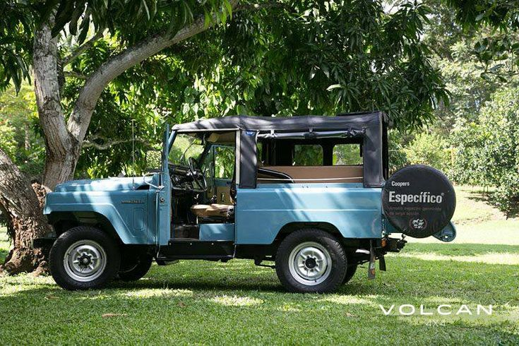 "'Indigo' is our rare-to-the-US, ""Hemmings Pick"" 1979 Nissan Patrol LG-60 from Volcan 4x4."