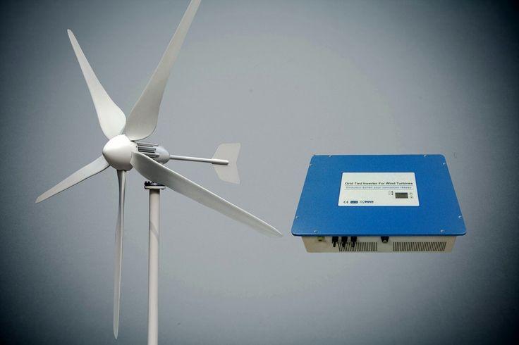 Zestaw on-grid turbina 3kW, inwerter z kontrolerem