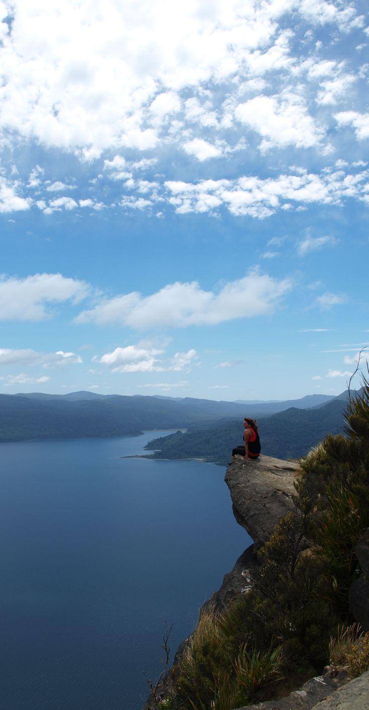 Lake Waikaremoana view - Panekire Bluffs, Te Urewera National Park, North Island, New Zealand