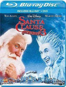 Santa Clause 3: The Escape Clause (2006) ($10.99) http://www.amazon.com/exec/obidos/ASIN/B0051SFTDY/hpb2-20/ASIN/B0051SFTDY This is a great movie for all of the family to watch. - The movie is a bit predictable, and unfortunately just doesn't entertain as well as the previous movies in the series did. - It was okay and all but it just wasn't that funny.