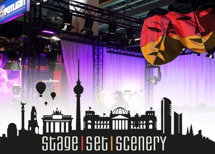 STAGE SET SCENERY: Berlin, 20-22 June 2017 – Stand 20/111
