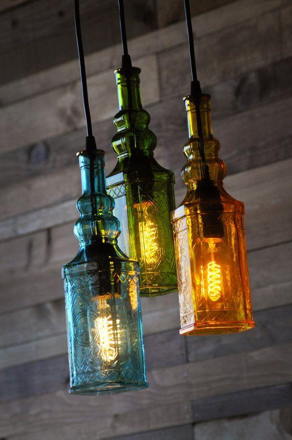 Botella reasingado araña - Marruecos