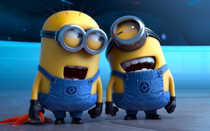 Lataa kuva Stuart, Jerry, Minions, Halveksittava Minua, 3D-animaatio