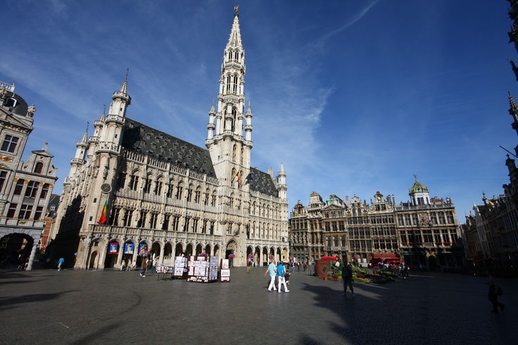 The Grand Place in Brussels    http://en.wikipedia.org/wiki/Grand_Place