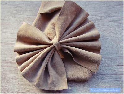 Diy tutorial leather Wristlet bag ,small bag jak uszyć skórzaną torebeczkę (sylwester,komunia,studniówka)