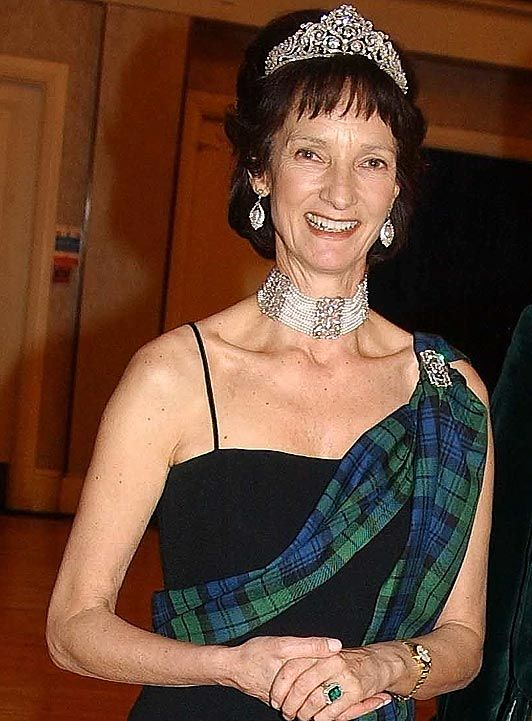 Iona Campbell, the Dowager Duchess of Argyll