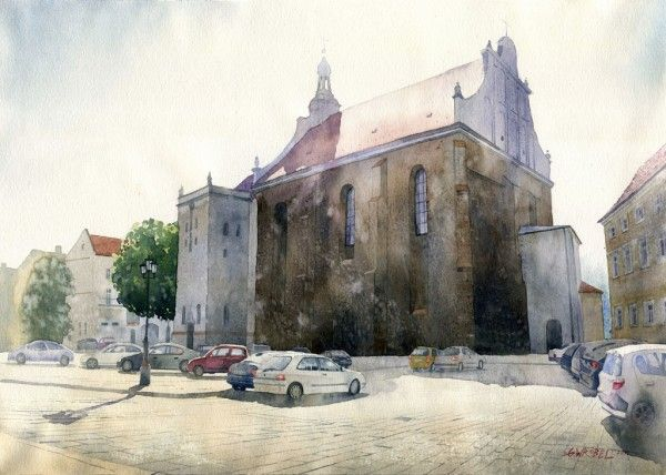 Kalisz by GreeGW - Watercolor paintings by Grzegorz Wróbel  <3 <3