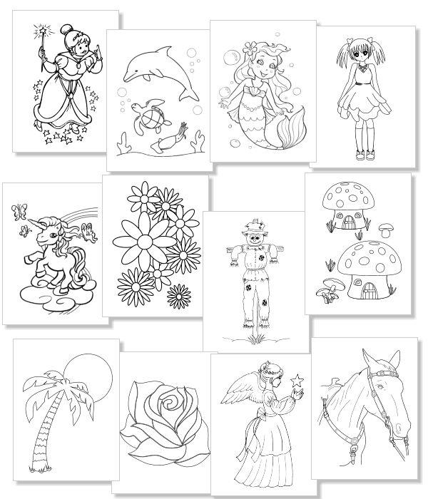 31 besten Malbuch ausdrucken Bilder auf Pinterest | Ausdrucken ...