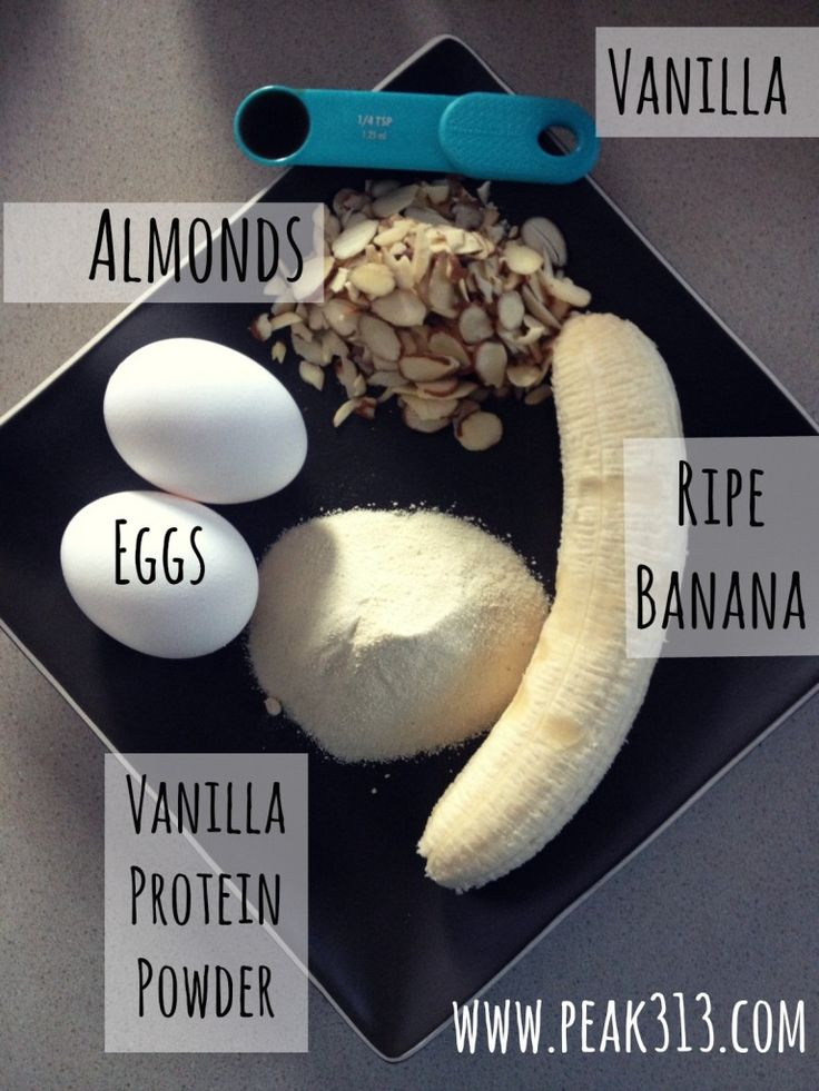 Vanilla Almond Protein Waffles (ingredients) | peak313.com