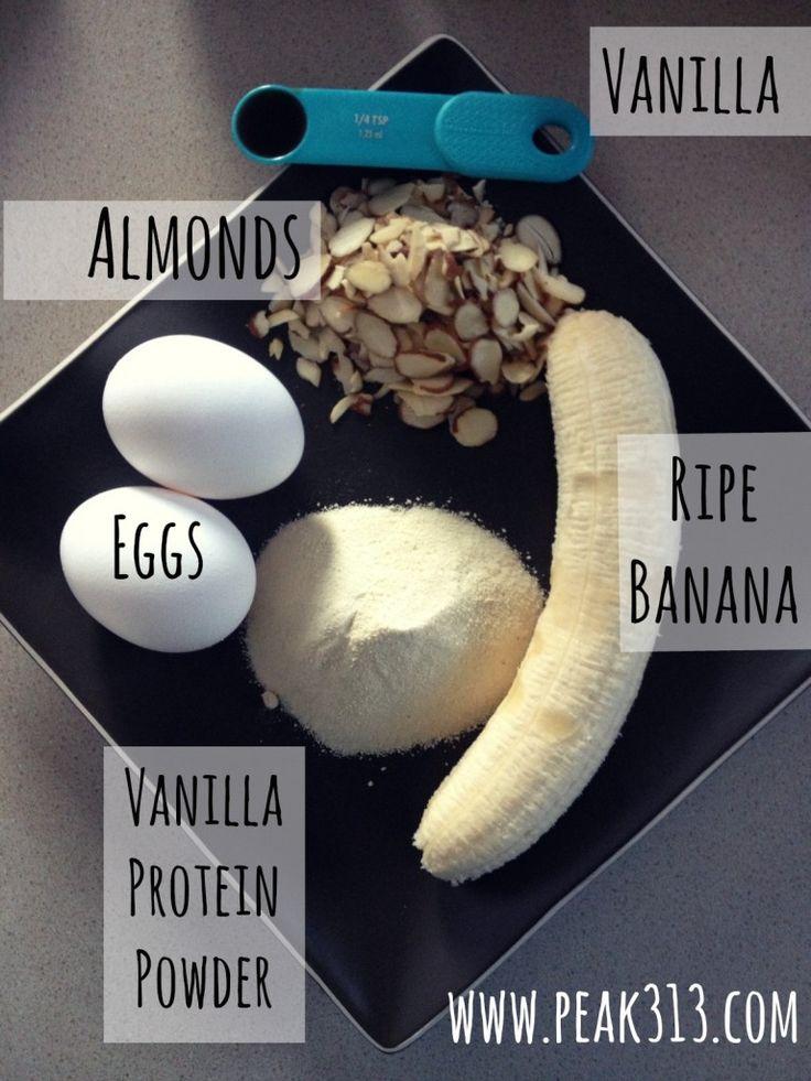 Vanilla Almond Protein Waffles (ingredients) | peak313.com