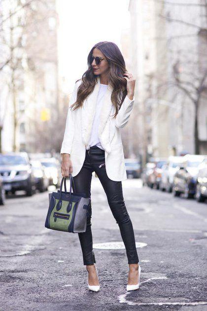 Πώς θα φορέσετε το άσπρο blazer | μοδα , news & super trends | ELLE